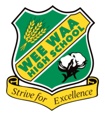 Wee Waa High School logo